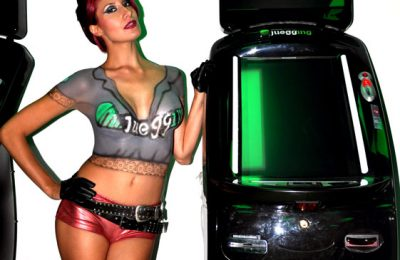 Body Paint con Beatriz Fuentes en Game Sport Juegging de Air Custom Paint