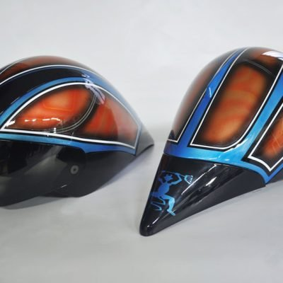 Casco de Ciclismo Triathlon Trisport Getafe Air Custom Paint