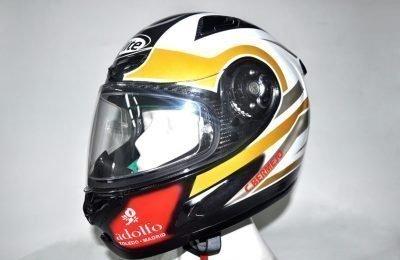 Pintura casco para casco de karting piloto Carlos Bermejo