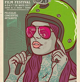 Cartel del Madrid Motorcycle Film Festival