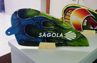 Placa conmemorativa deposito Sagola