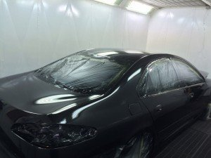 AIR CUSTOM PAINT - Restauración de pintura Peugeot 607 05