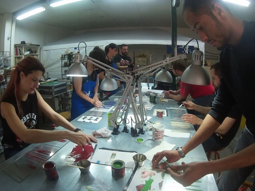 taller de iniciacion al pinstriping junio 2016 air custom paint