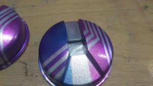 Pintura personalizada para cascos de DJ. - Ana Ro 03